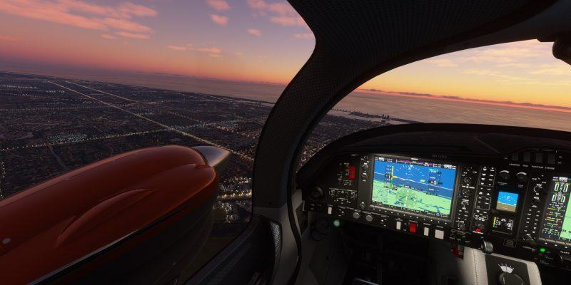 Microsoft Flight Simulator Diamond Cockpit