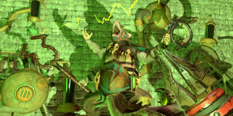 Throt The Unclean Ghoritch Quest Battle Unique Items Total War Warhammer Ii Warhammer 2