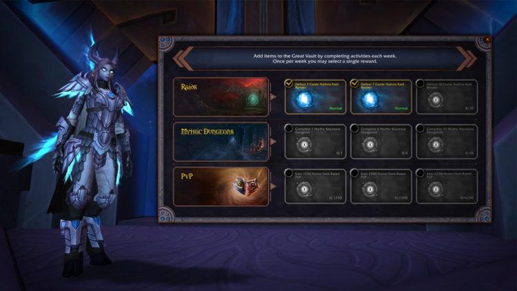 World Of Warcraft Shadowlandsseason 1 Begins With New Raid & Mythic+ Dungeons (1)