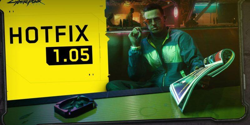 Cyberpunk 2077 Hotfix 1.05