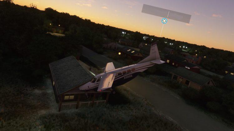 Microsoft Flight Sim Crash2
