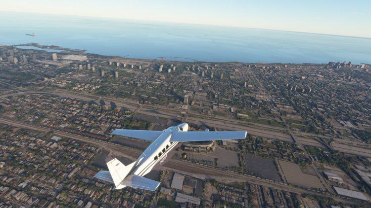 Microsoft Flight Sim House