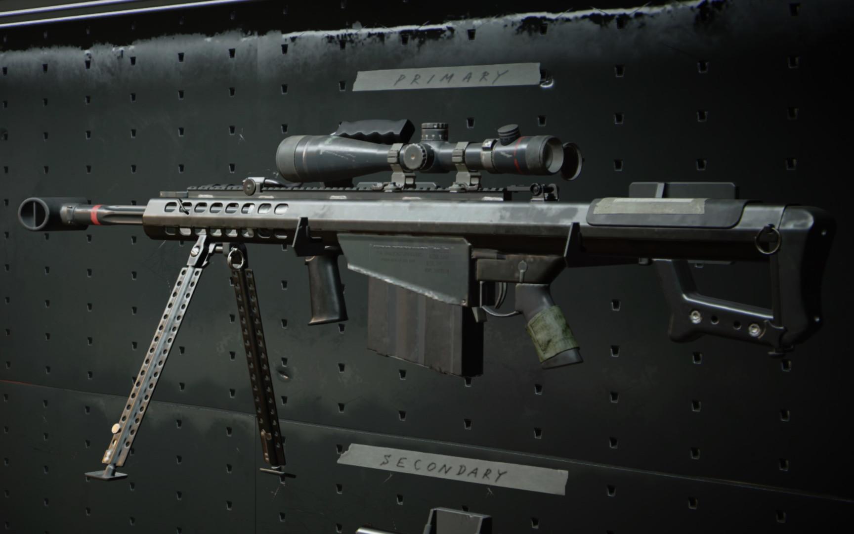 Black Ops Cold War M82 Gunsmith