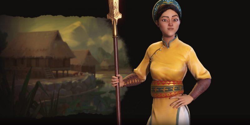 Civilization Vi New Frontier Pass Civilization 6 Vietnam Ba Trieu Lady Trieu Deity Guide