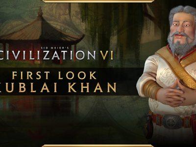 Civilization Vi New Frontier Pass Kublai Khan Mongolia China Announcement