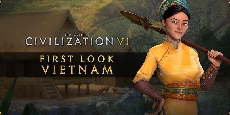 Civilization Vi New Frontier Pass Vietnam Lady Trieu Reveal