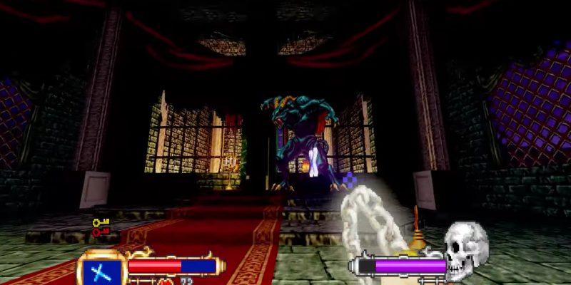 Doom Castlevania Mod
