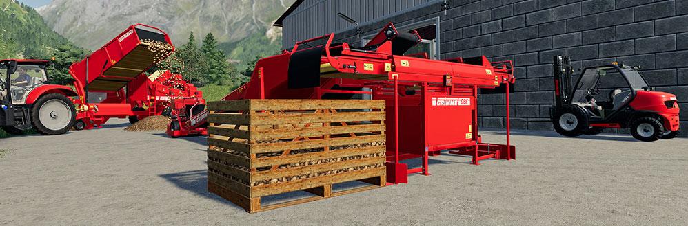 Farming Simulator 19 Grimme Expansion 1