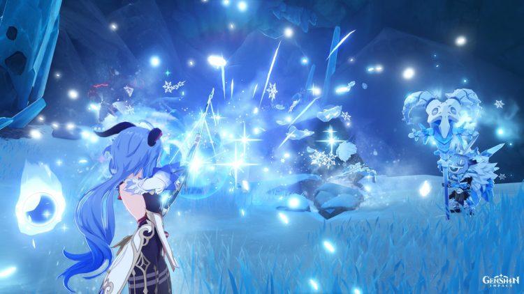 Genshin Impact Ganyu Guide Weapons Artifacts Talents 3
