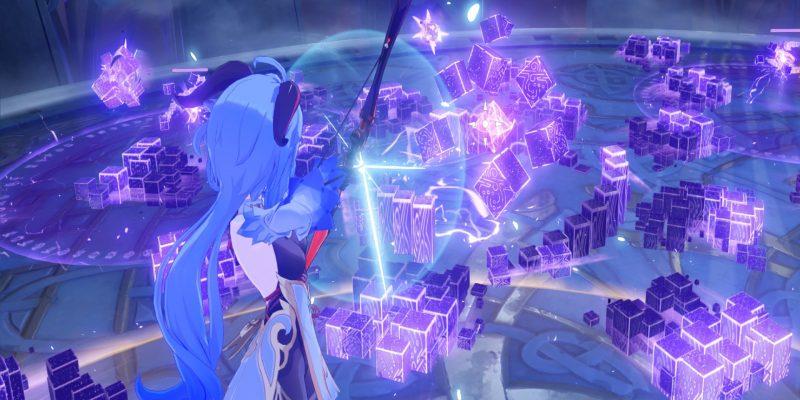 Genshin Impact Pure Electro Hypostasis Violet Lightning Concerto Ii
