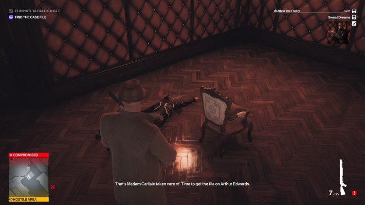 Hitman 3 Dartmoor Assassination Challenges Guide Alexa Carlisle 2