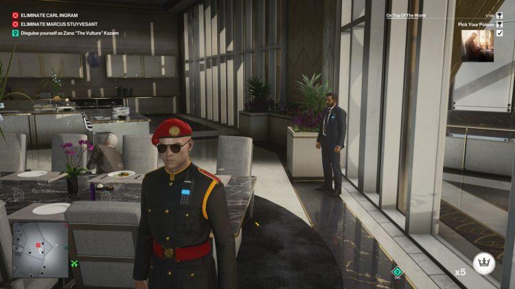 Hitman 3 Dubai Assassination Challenges Guide 1b