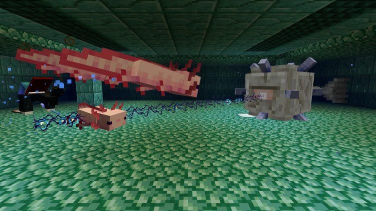 Latest Minecraft Snapshot Adds Glowing Squids And Lichen (2)