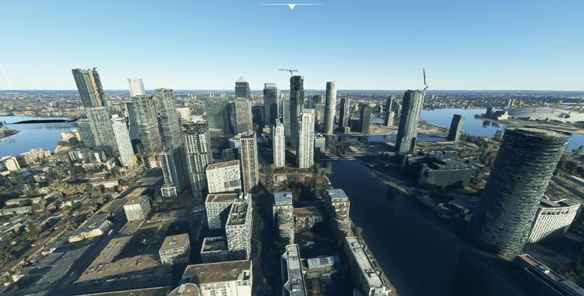 Microsoft Flight Simulator Asobo London Photogrammetry World Update 3