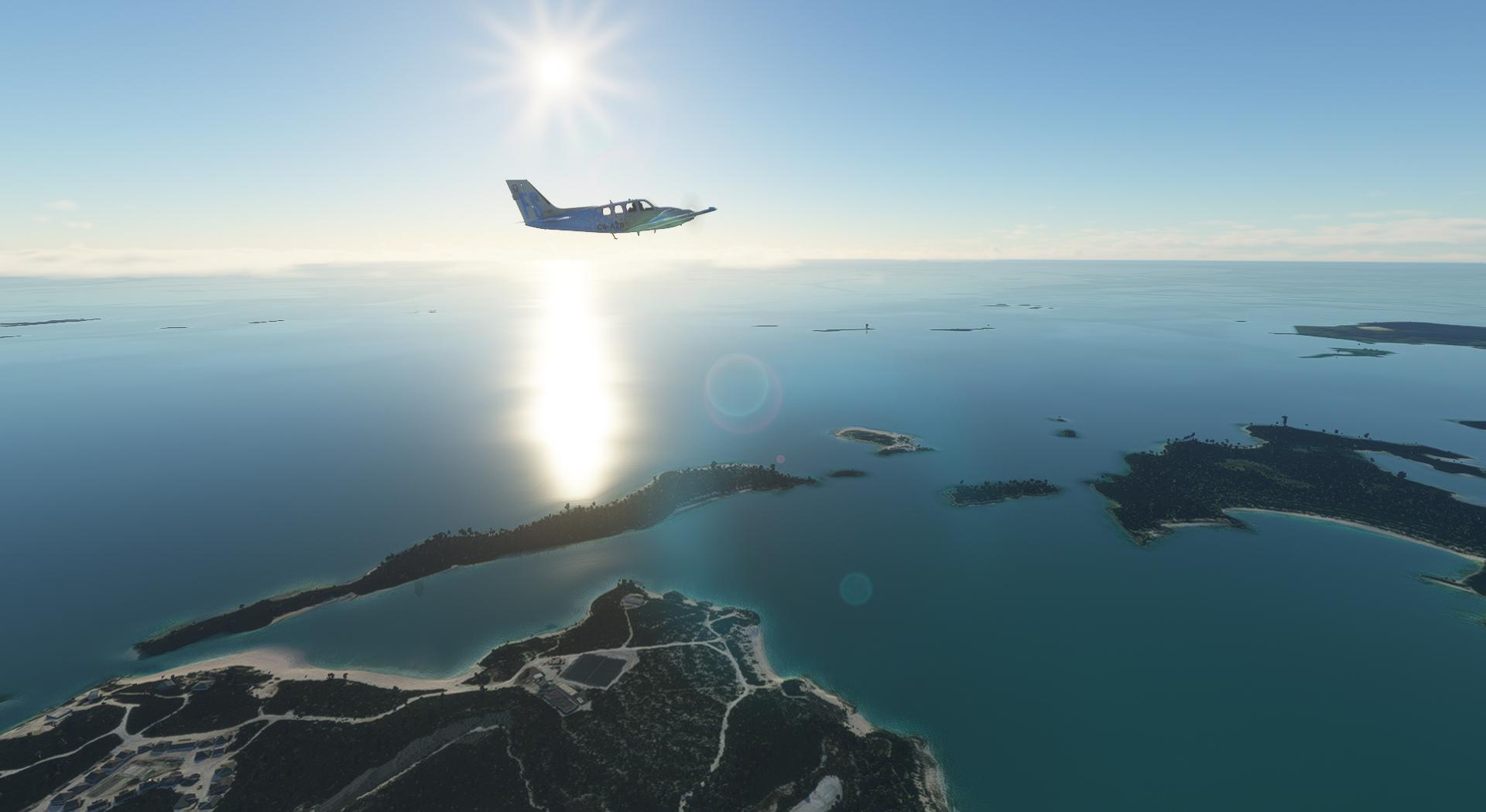 Microsoft Flight Simulator Baron In The Bahamas