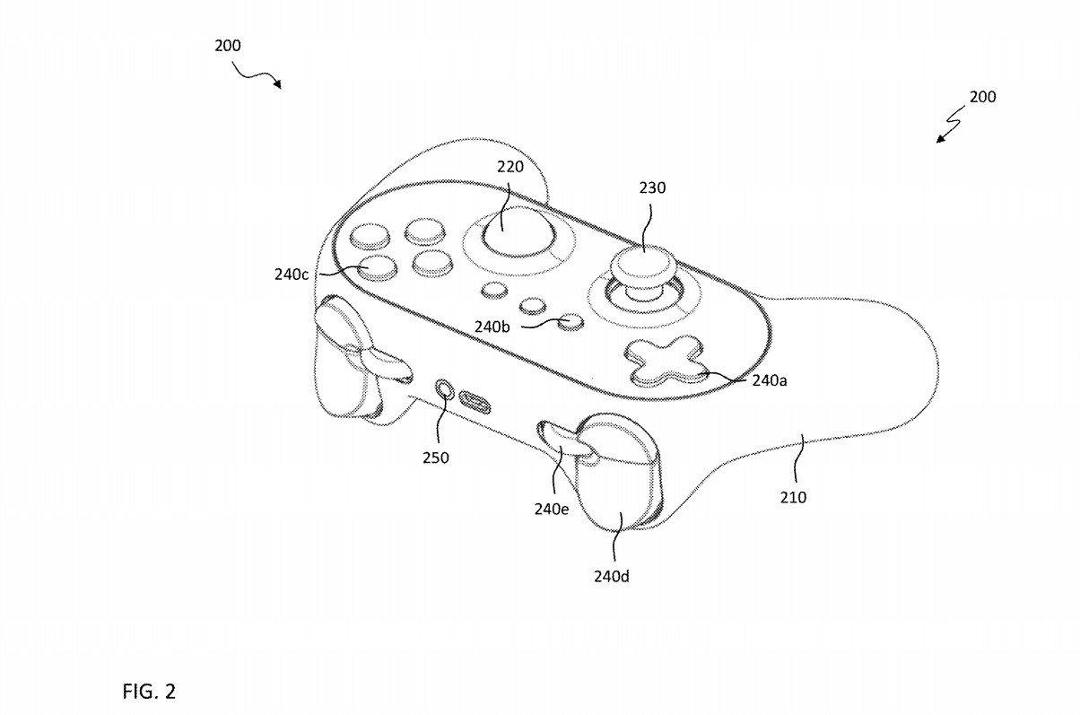 Nvidia Trackball Patent