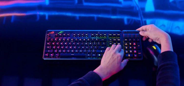 Rog Ces 2021 Keyboard