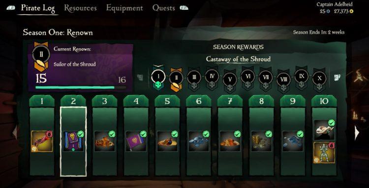 Sea of Thieves seasons explained