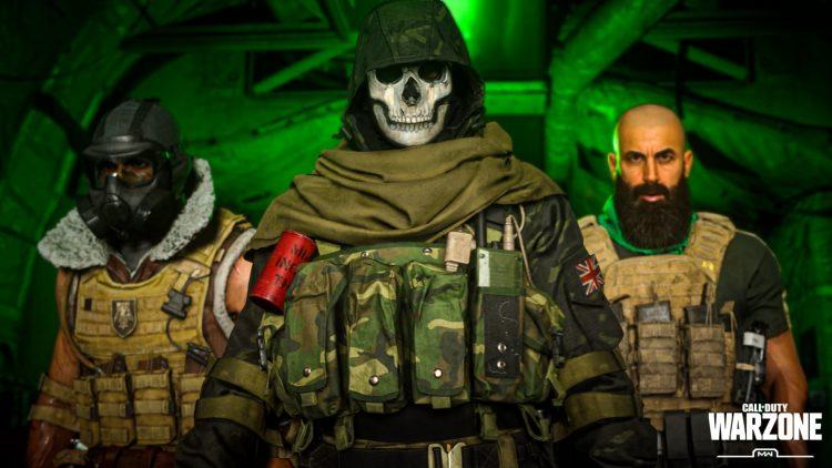 Warzone operator glitch