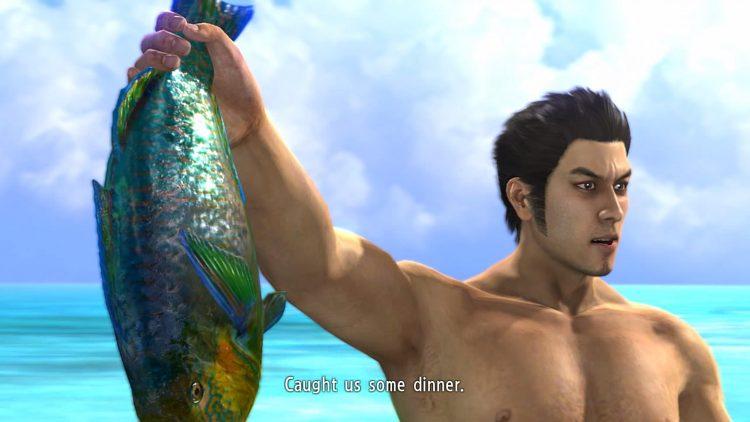 Yakuza 3 Opening Fish