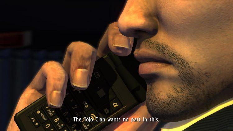 Yakuza 3 - Daigo's phone