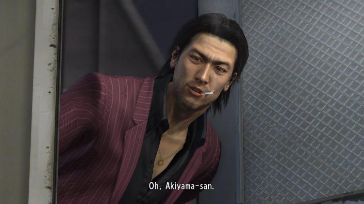 Yakuza 4 - Akiyama