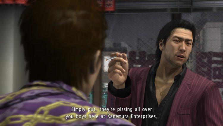 Yakuza 4 - Akiyama is great