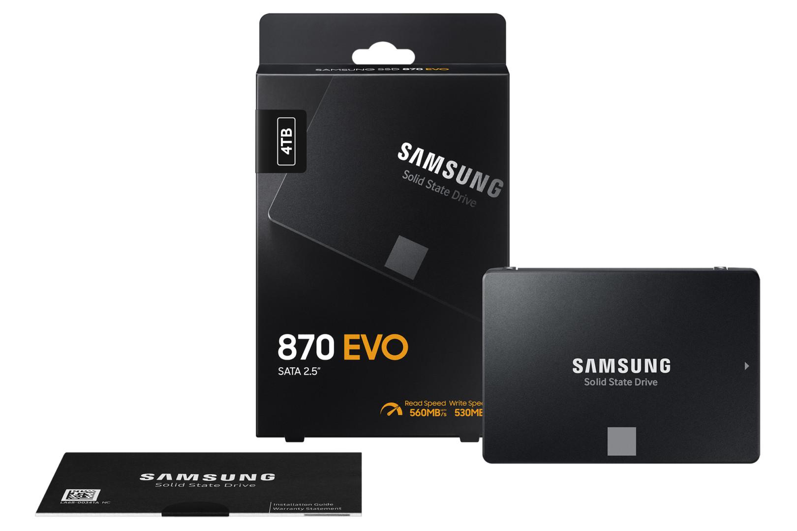 Samsung 870 Evo Sata Ssd Cover