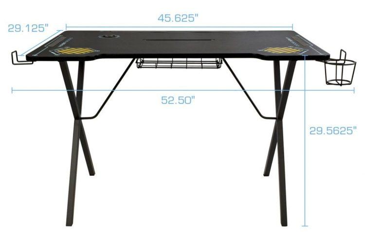 Atlantic Viper 3000 Gaming Desk Review Size