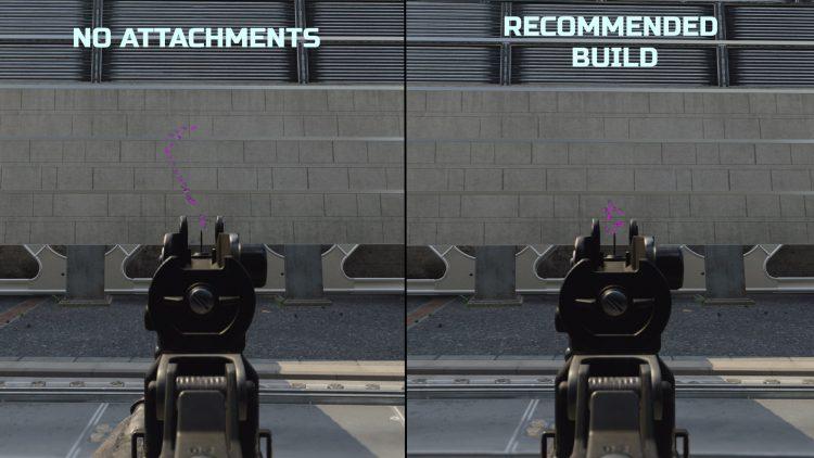 Black Ops Cold War Groza Recoil Comparison loadout