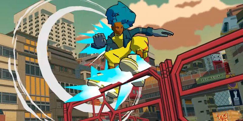 Bomb Rush Cyberfunk Official Gameplay Trailer Jet Set Radio