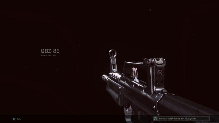 Call Of Duty Warzone Qbz-83