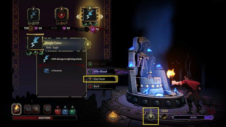 Curse Of The Dead Gods Weapon Altars Divine Favor Crystal Skulls 2