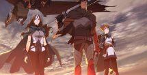 Dota 2 Netflix Anime Series Characters