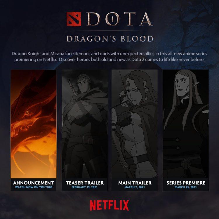 Dota 2 Anime Series Reveal