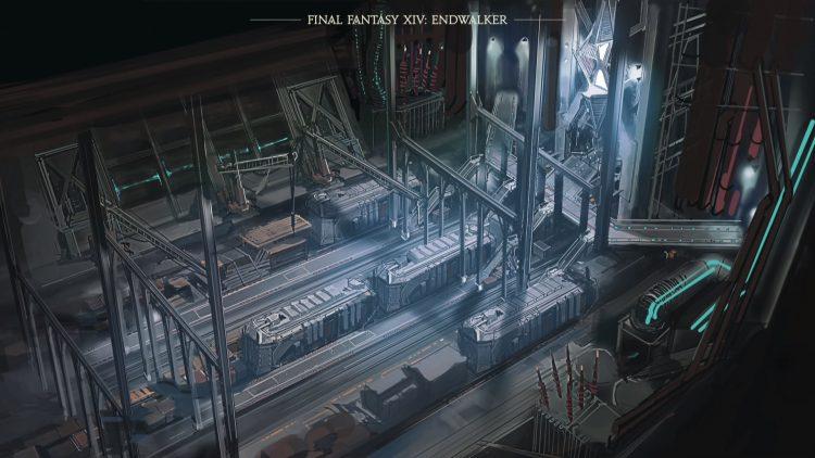 Final Fantasy Xiv Train Station