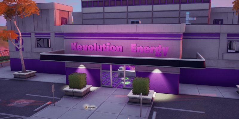Fortnite Purple Pool Challenge