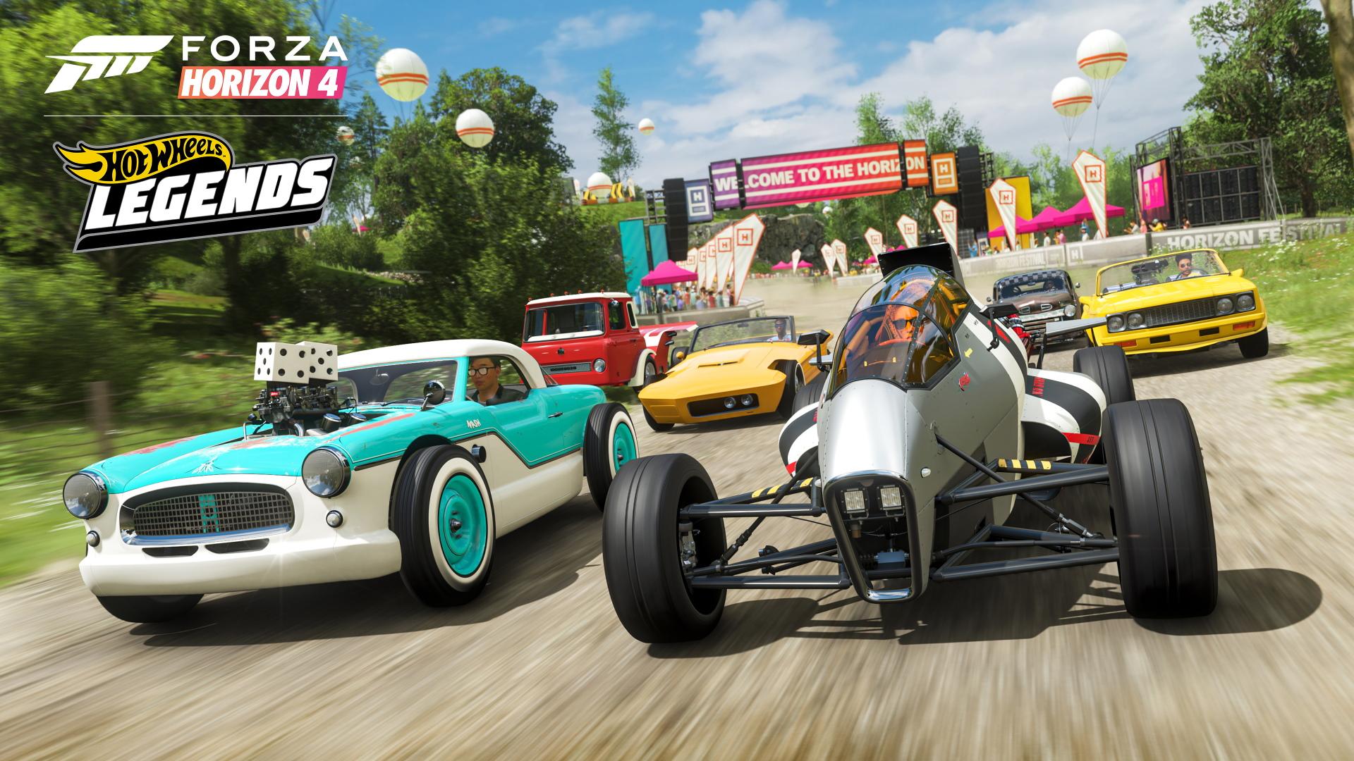 Forza Horizon 4 Hot Wheels Legends