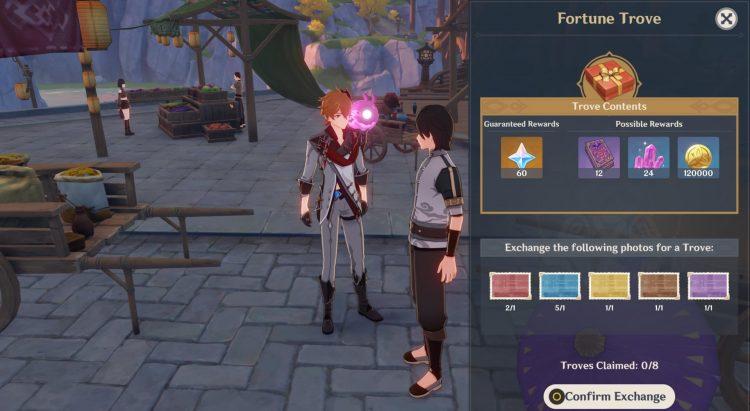 Genshin Impact Kurious Kamera Five Flushes Of Fortune Event Guide 2