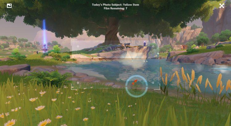 Genshin Impact Kurious Kamera Yellow Items Guide Five Flushes Of Fortune Day 5 1a