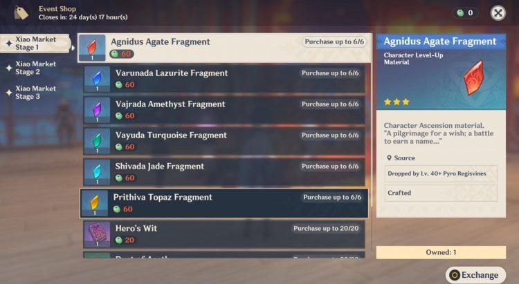 Genshin Impact Lantern Rite Xiao Market Rewards Guide 1