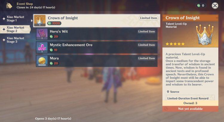 Genshin Impact Lantern Rite Xiao Market Rewards Guide 2