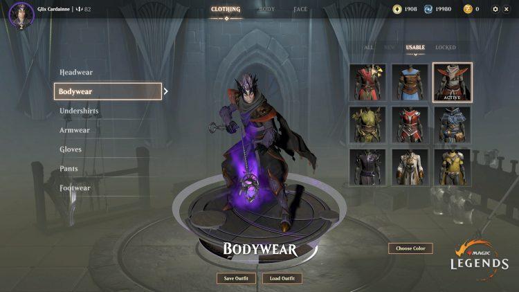 Magic Legends Tailor