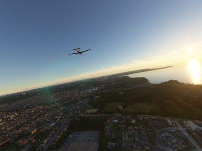 Microsoft Flight Simulator Cirrus In The Southern Uk 1
