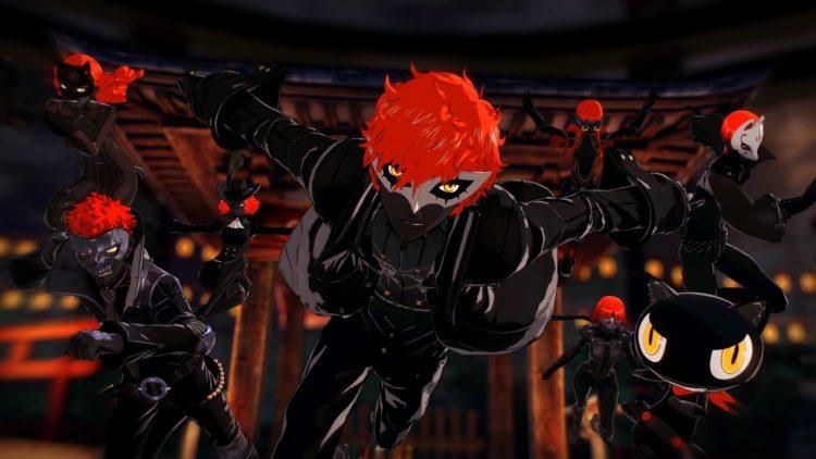 Persona 5 Strikers тюрьма киото Джокер Аканэ (2)