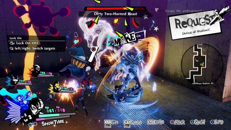 Persona 5 3 striker combat guide