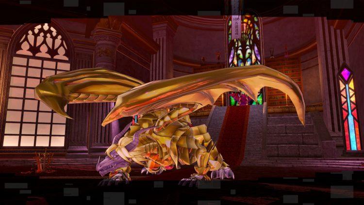 Persona 5 Strikers Кошмарный дракон Анго (1)