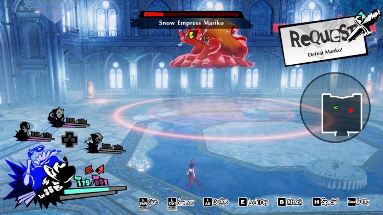 Persona 5 Strikers Snow Empress Mariko (2)