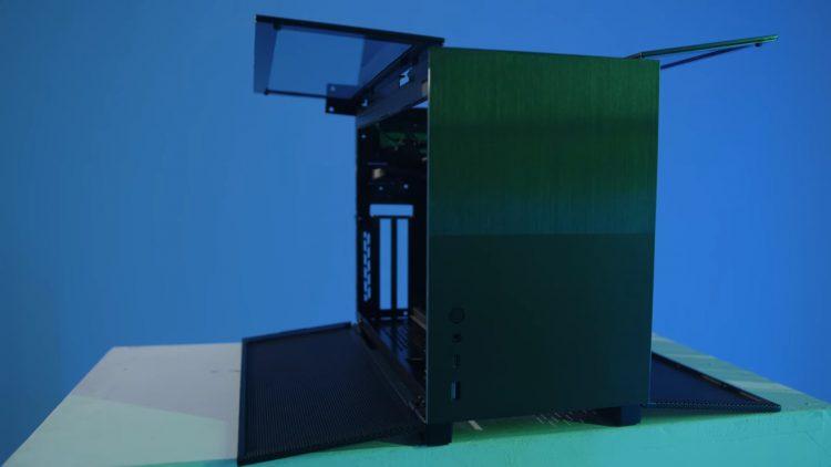 lian li digital expo 2021 Q58 pc case