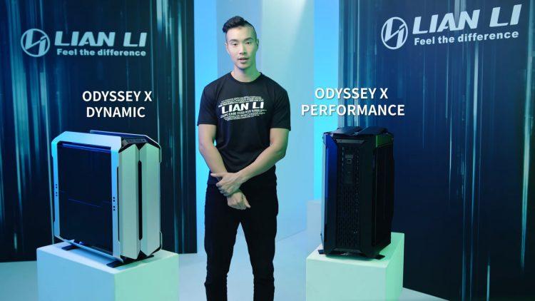 Lian Li Digital Expo 2021 pc case Odyssey x
